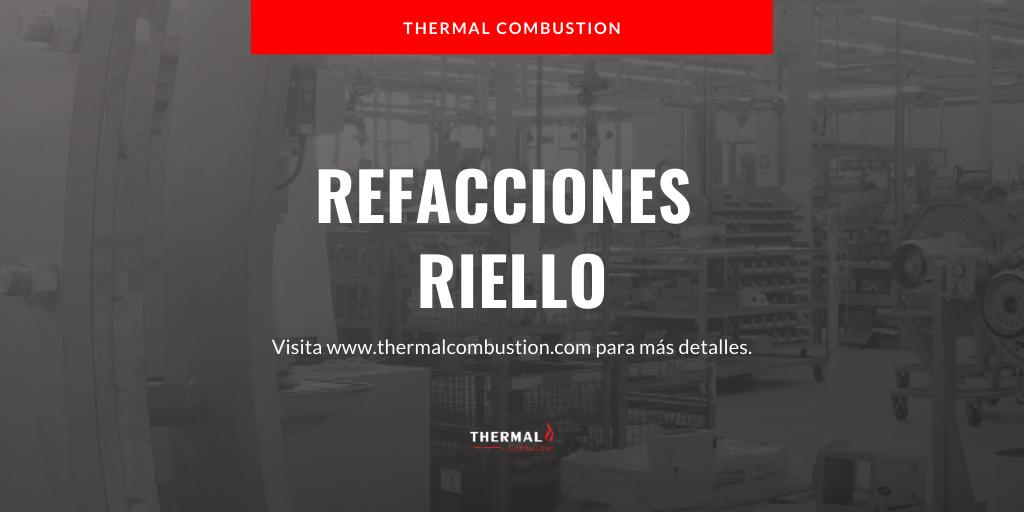 Refacciones-Riello